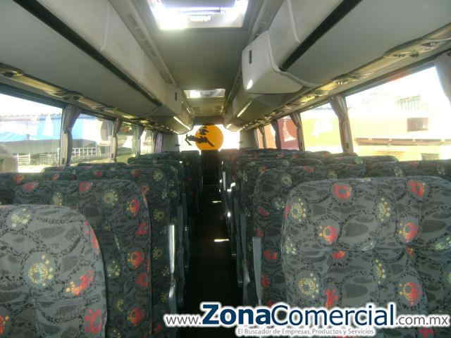 Servicio de Renta de Autobuses. Turístico y de Negocio.AUTOBUS IRIZAR NUEVO CENTURY ACM  AUTOMATICO 2 PUERTAS ACCESO COMPARTIMIENTO DE PASAJEROS PRIVADO AL AREA DE OPERADORES 53 ASIENTOS RECLINABLES 1 SANITARIO VISTA PANORAMICA LATERAL Y TRASERA 4 MONITORES MAS DVD, USB, CD WiFi