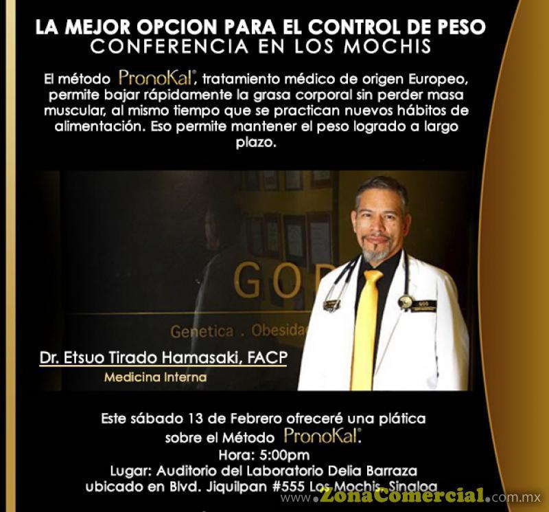 Conferencia Sábado 13 de Febrero, 5:00pm en el Auditorio del Laboratorio Delia Barraza