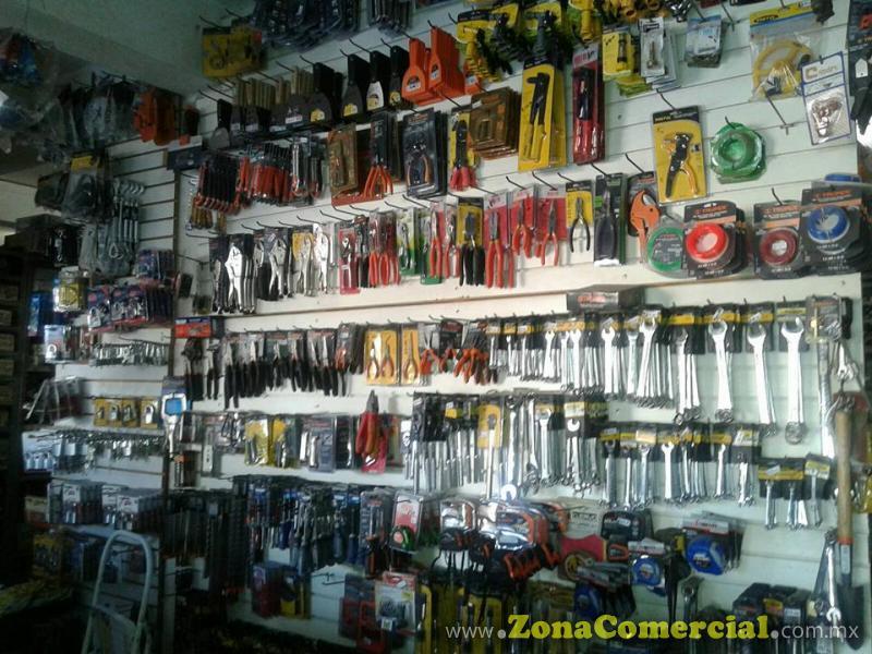 Productos que ofrece Ferreteria California