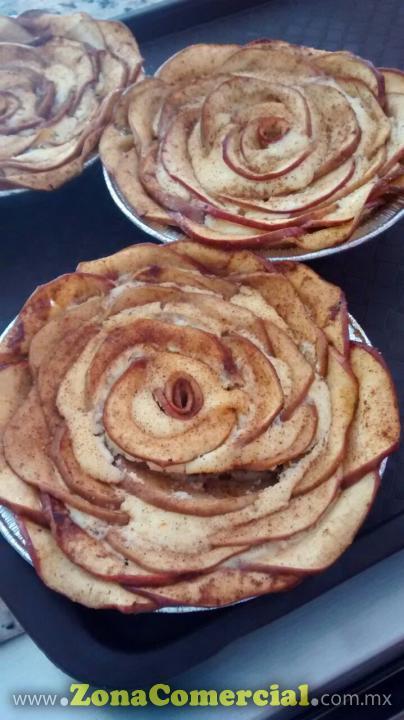 Pastelería Magnolias - Cheesecake de manzana