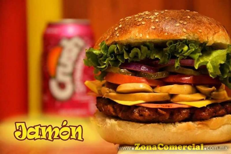 Hamburguesa Jamón