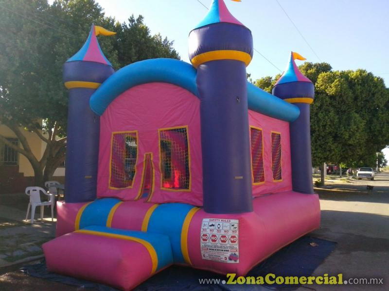 INFLABLE CASTILLO PRINCESAS 5 X 3.5