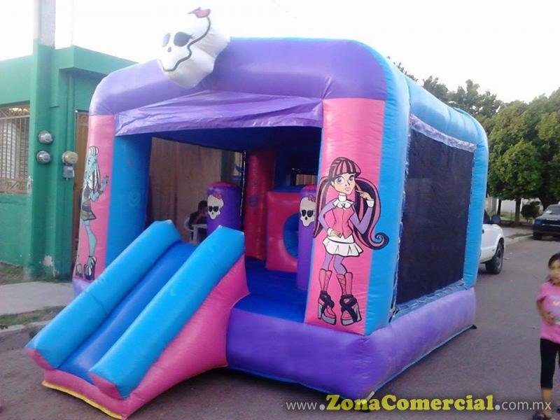 INFLABLE DE LAS MONSTER 3 X 4