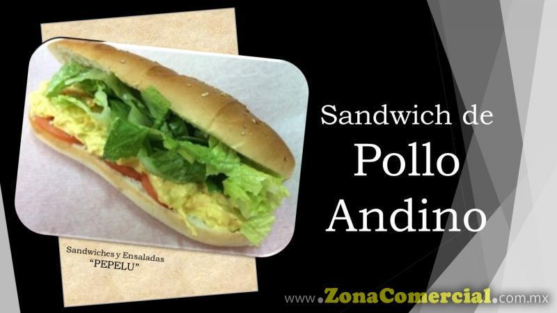 Sandwich de Pollo Andino