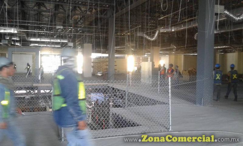 Realizacion de trabajos en instalaciones de Liverpool galerías