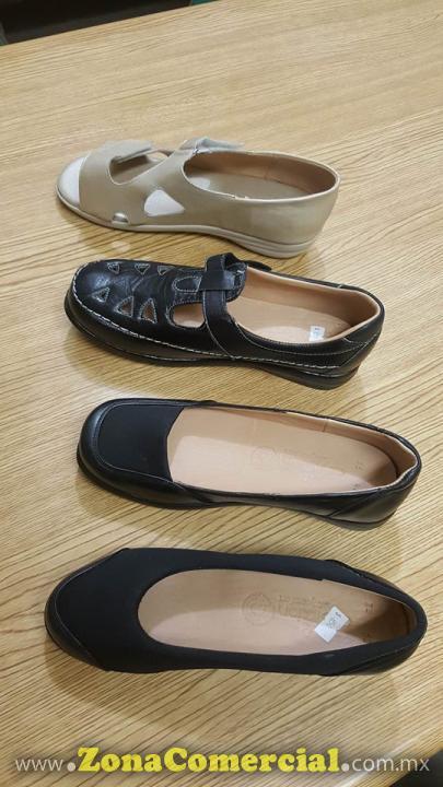 Nuevos estilos de Zapatos cómodos para pie diabético, pie cansado, entre otros.