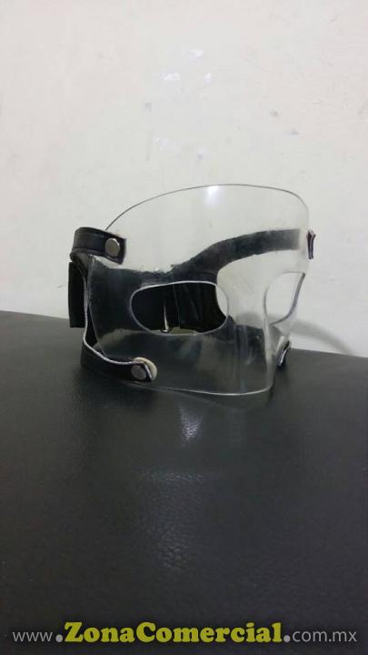 Máscaras para proteger la nariz. Es fabricada a la medida de cada cliente.