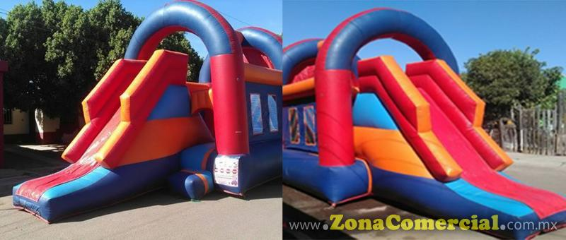 INFLABLE COMBO CON RESBALADILLA 7.5 X 4