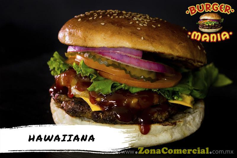 BURGER MANIA HAWAIANA