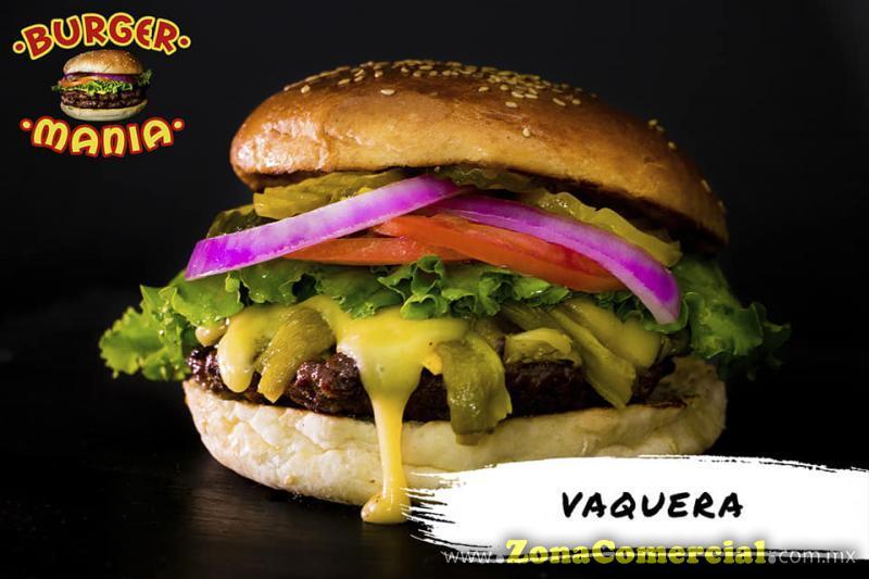 BURGER MANIA VAQUERA