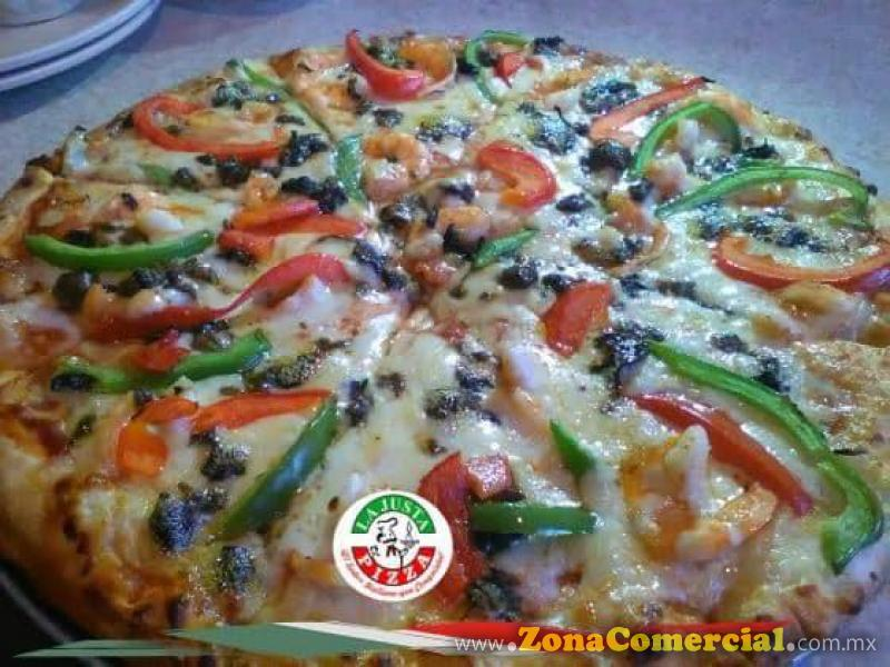PIZZA DEL PATRÓN - LA JUSTA PIZZA