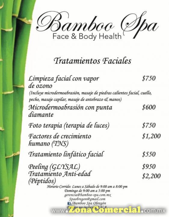 Bamboo Spa Obregón