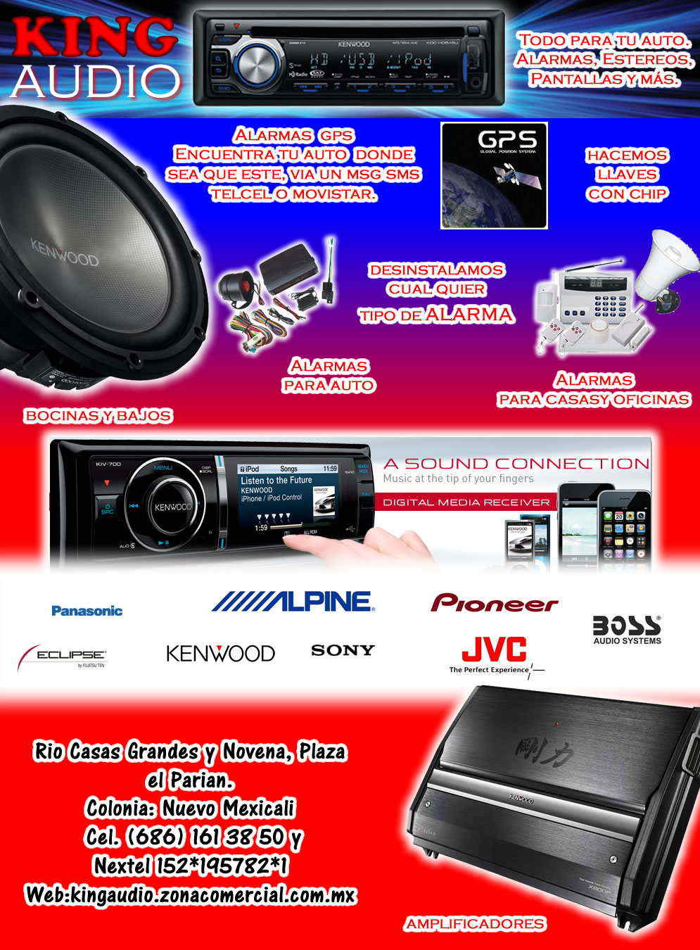 King audio en mexicali anunciado por for Todo para tu casa