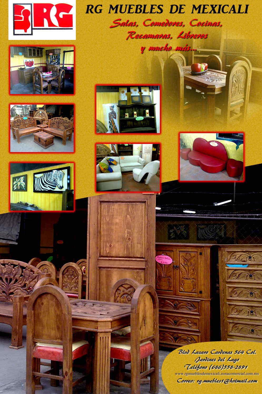 Rg muebles de mexicali en mexicali anunciado por for Muebles cardenas
