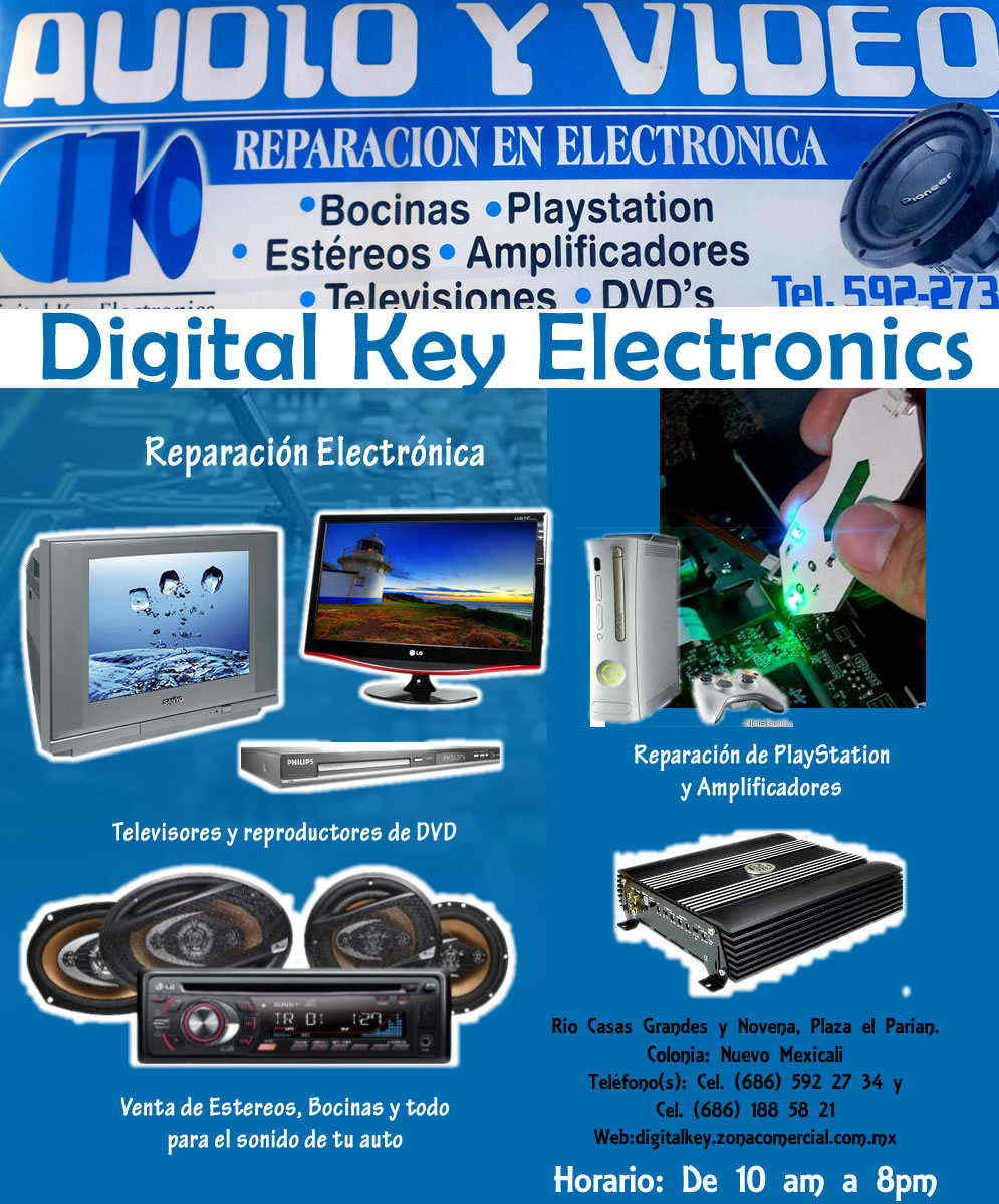 AUDIO Y VIDEO-REPARACION EN ELECTRONICA