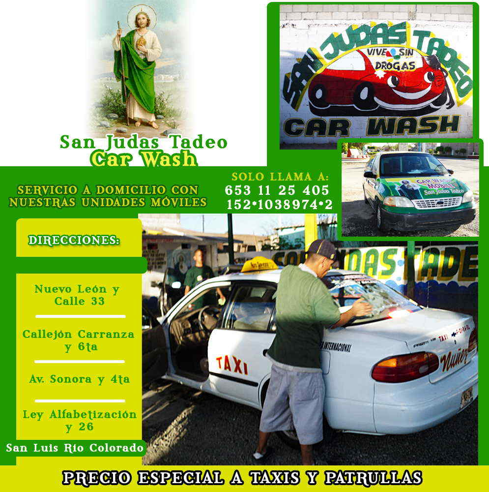 Car wash San Judas Tadeo-CONTAMOS CON SERVICIO A DOMICILIO CON NUESTRO SERVICIO MOVIL LLAMENOS!!.