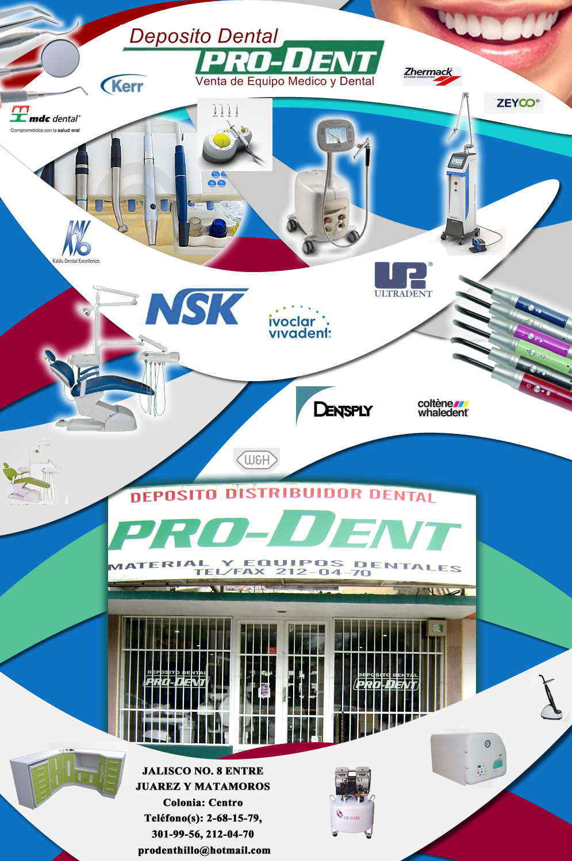 Deposito dental pro dent en hermosillo anunciado por for Refaccionarias en hermosillo