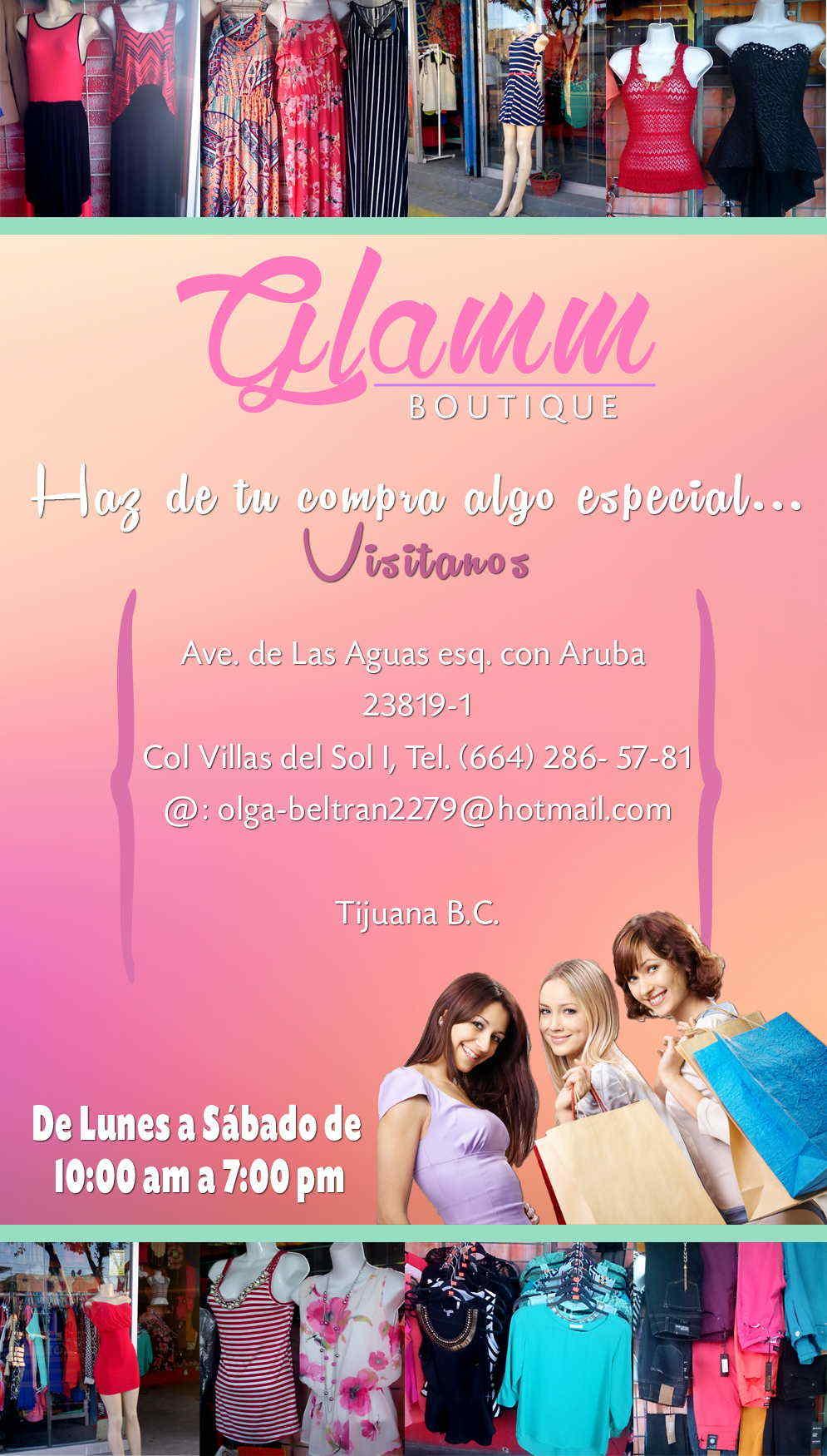 Glamm Boutique en Tijuana anunciado por ZonaComercial.com.mx. Ropa y ...