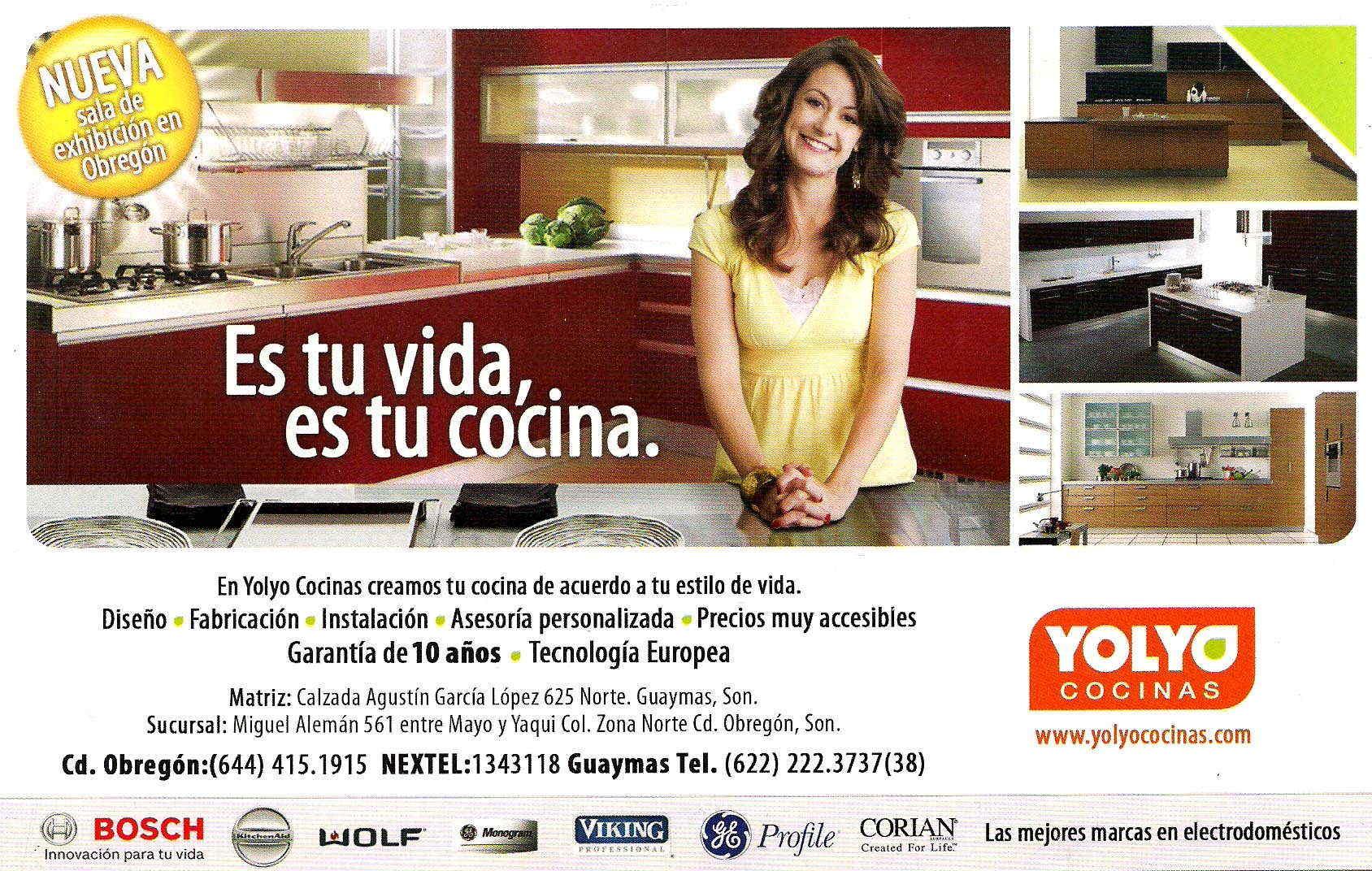 yolyo cocinas en ciudad obreg n anunciado por