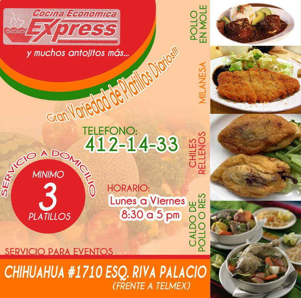 Cocina economica express en ciudad obreg n anunciado por for Cocina economica