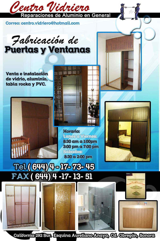 Centro Vidriero En Ciudad Obreg N Anunciado Por Zonacomercial Com  # Muebles Luna Cd Obregon Sonora