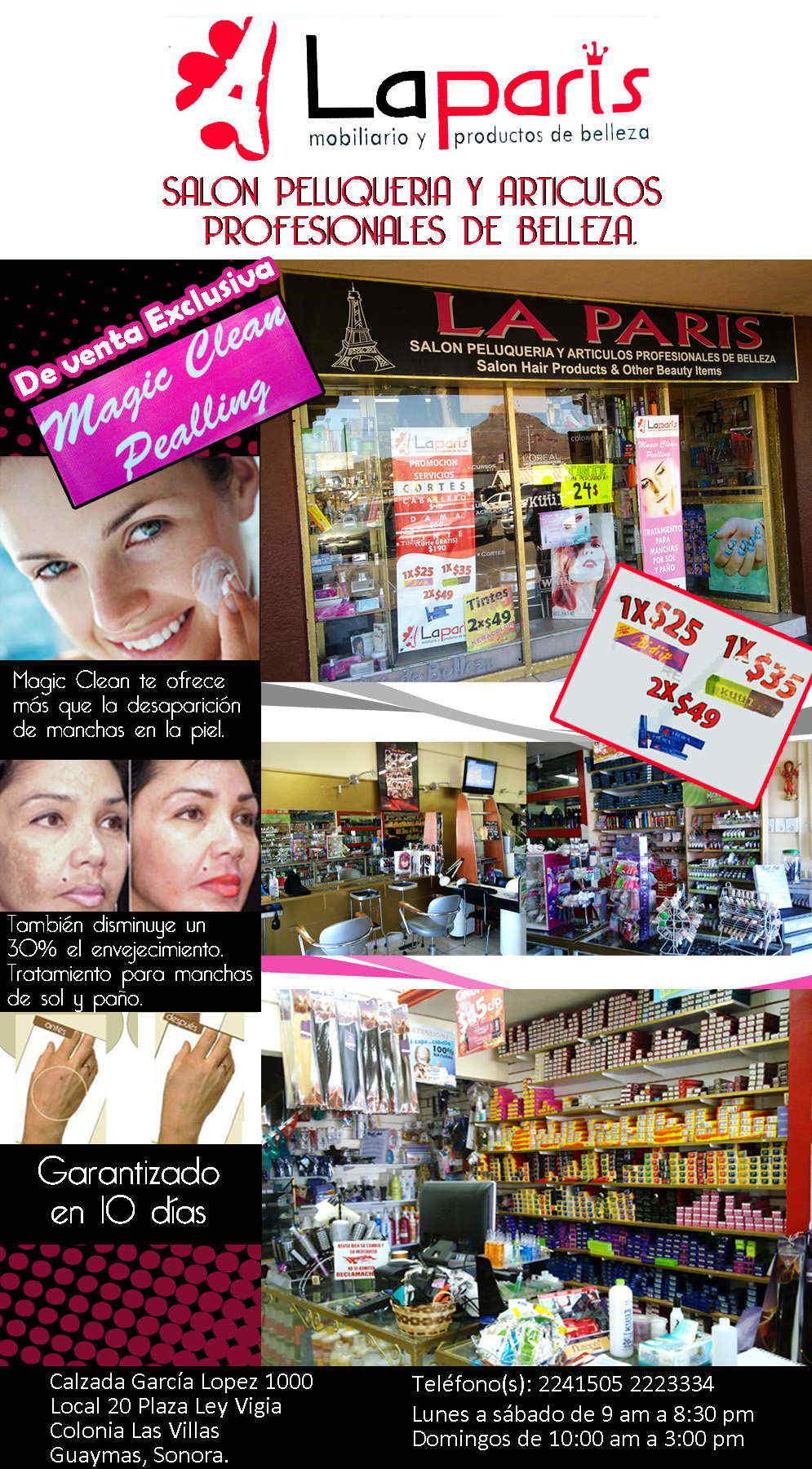 Salon la paris hair products other beauty items en for Accesorios para salon de belleza