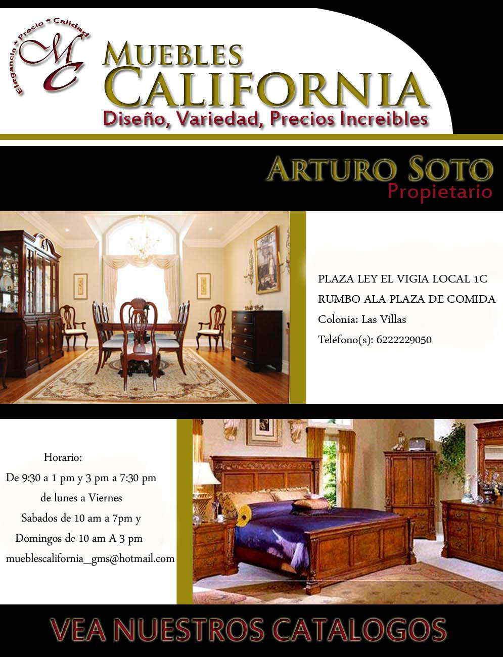 Muebles california en guaymas anunciado por zonacomercial - Muebles a buen precio ...
