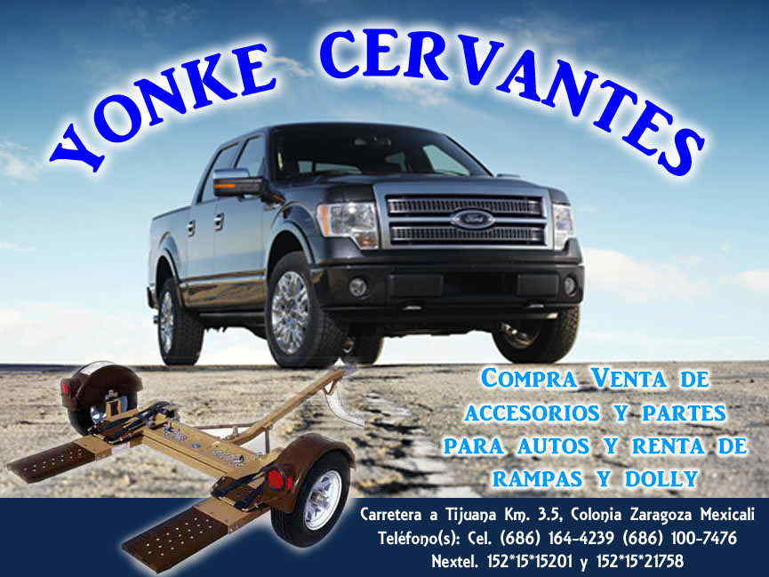 YONKE CERVANTES en Mexicali anunciado por ZonaComercial ...