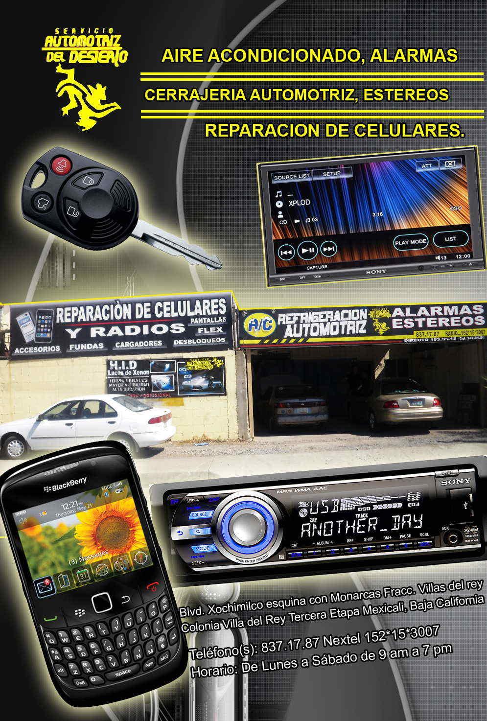 Servicio Automotriz Del Desierto En Mexicali Anunciado Por