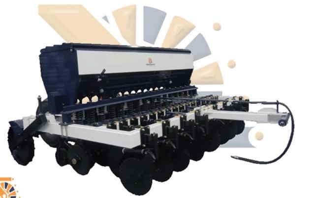 Sembradora para granos finos siembra directa. Sembradora para granos finos siembra directa labranza de conservación.
