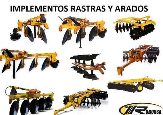Implementos Rastras y Arados Implementos Rastras y Arados.