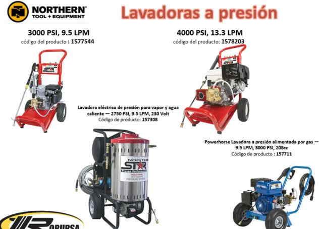 Lavadoras  a Presión Lavadoras a Presión.
