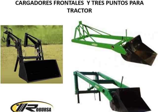 Cargadores Frontales Cargadores Frontales y Tres Puntos para Tractor.