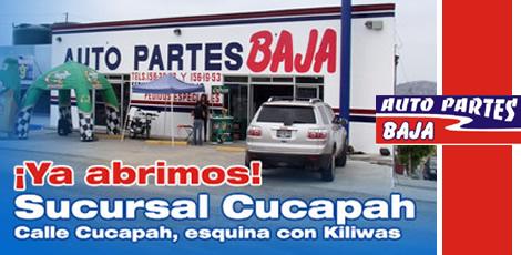 Auto-Partes-Baja-Sucursal-México